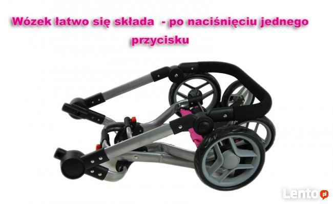 Mega Wózek Wielofunkcyjny Dla Lalek - 16 FUNKCJI
