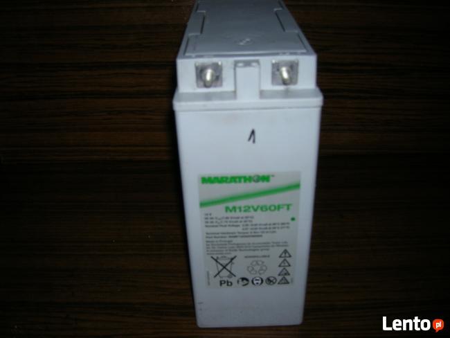Akumulatory (AGM) 65Ah do łodzi z nap. elektrycznym