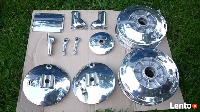 Polerowanie wibracyjne felg, spawanie aluminium