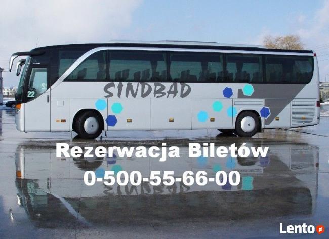 Bilety autobusowe na trasie Warszawa-Londyn juz od 339zł !!