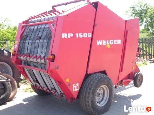 Prasa rolująca WELGER RP 150S , Prasa zwijająca Welger