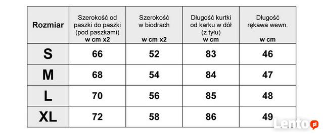 1d8ab75c86e62 Kurtka Parka Damska Kaptur Baranek Wiosna Jesień Zima #116 Warszawa