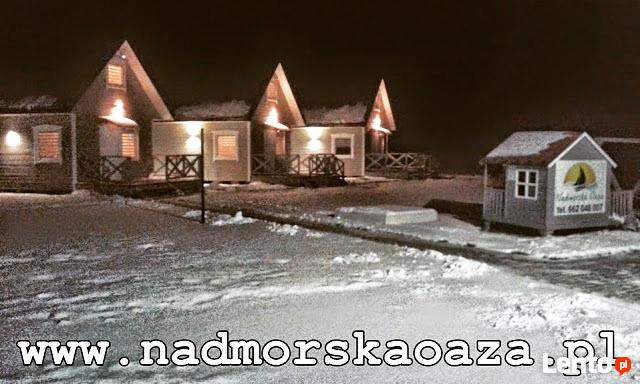 Domki nad morzem Jarosławiec Ustka Rowy święta  Majówka