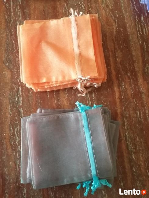 opakowanie woreczek prezent sakiewka torebka organza