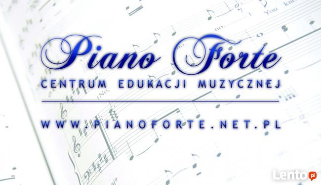 Nauka gry na pianinie, gitarze, flecie,perkusji, skrzypcach