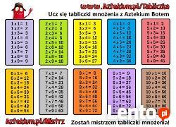 Nauka matematyki i języków obcych za darmo z Aztekium