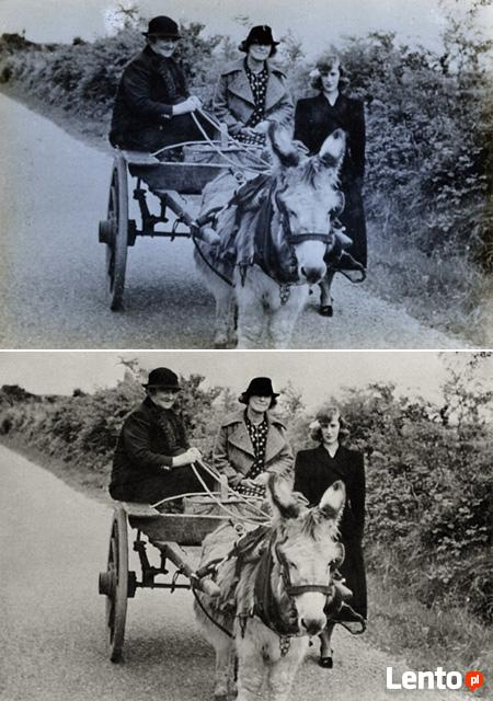 Retusz i renowacja starych zdjęć