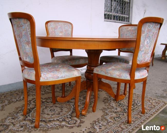 Przpiękne stoły i krzesłaLudwik Filip-Medaliony Jednostkowe