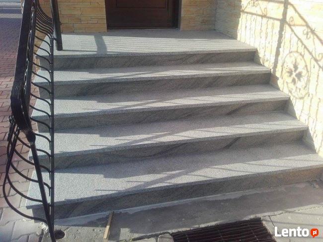 Schody parapety blaty kuchenne MARMUR GRANIT Kamieniarstwo