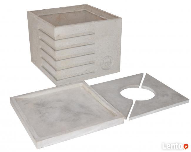 Dekoracyjne donice i inne wyroby z betonu architektonicznego