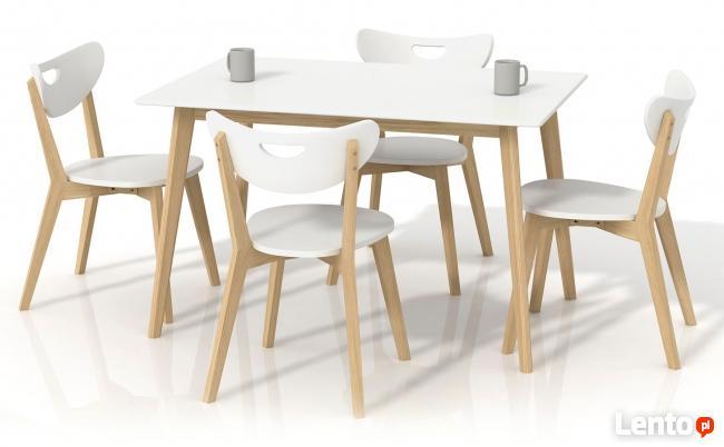 Kultowy Stół 120x80 Inelo - Biały