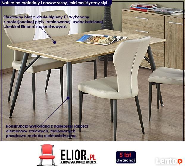 Minimalistyczny Stół Fabis 150x90 - Dąb Sonoma
