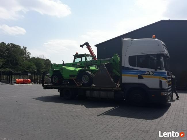 Pomoc Drogowa Transport Maszyn Rolniczych i Budowlanych