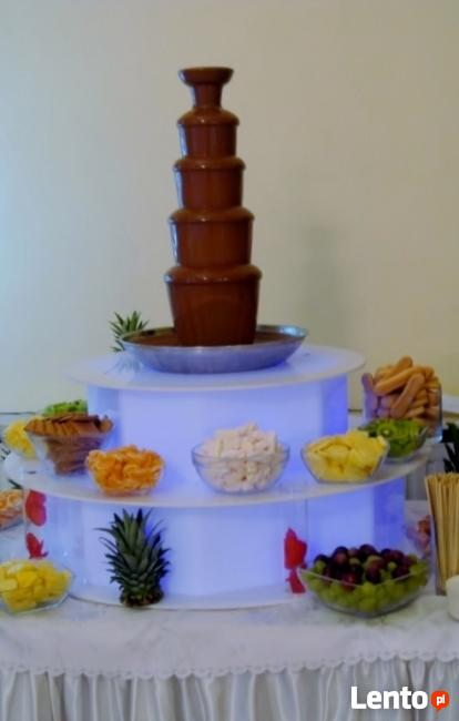 Fontanna czekoladowa, fototbudka!!!