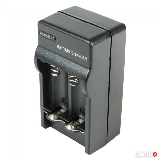 Ładowarka na 2 baterie cr 123 a o napięciu 2.8V - 3.7V lit