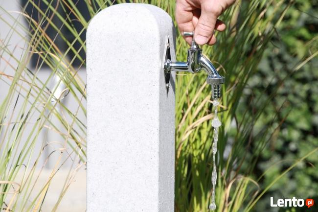 Kran Ogrodowy Punkt Poboru Wody Hydrant Poller Akro-Bud