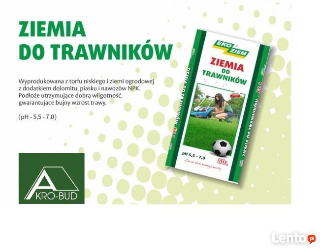 Ziemia Do Tawników Podłoża Ziemia Ogrodnicza Akro-Bud Kraków