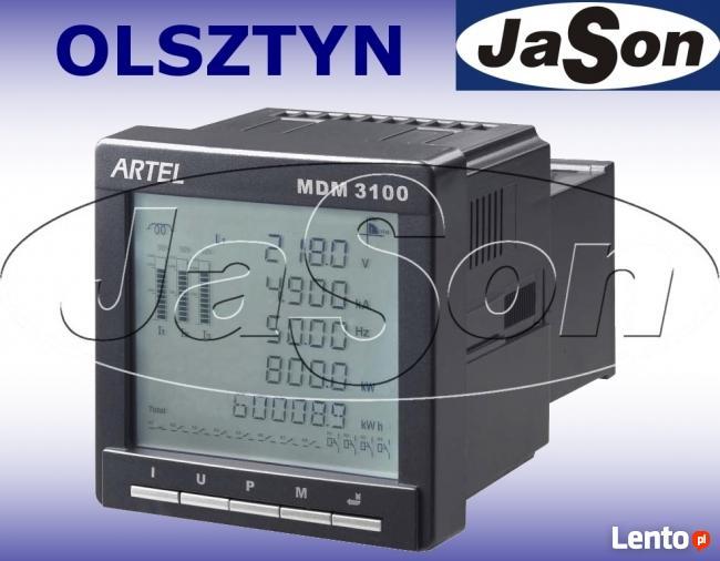 Miernik mocy 3-faz MDM3100 ARTEL