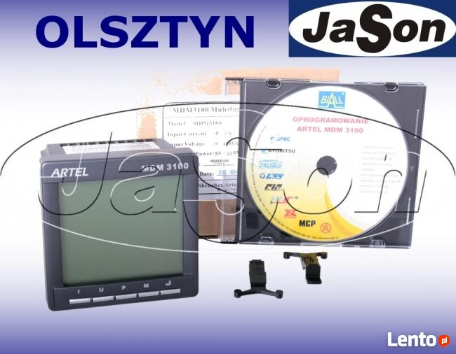 Miernik mocy 3-faz MDM3100-GI (2GB+harm,ethernet) ARTEL