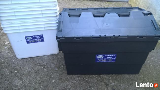 Wynajem /użyczenie/ pojemników plastikowych do przeprowadzek