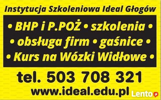 szkolenia BHP p.poż Leszno