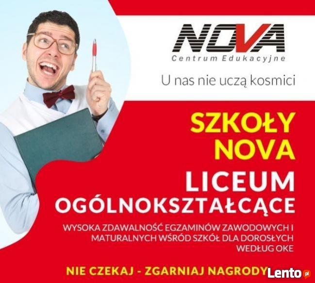 Liceum Ogólnokształcące w NOVA CE!!!