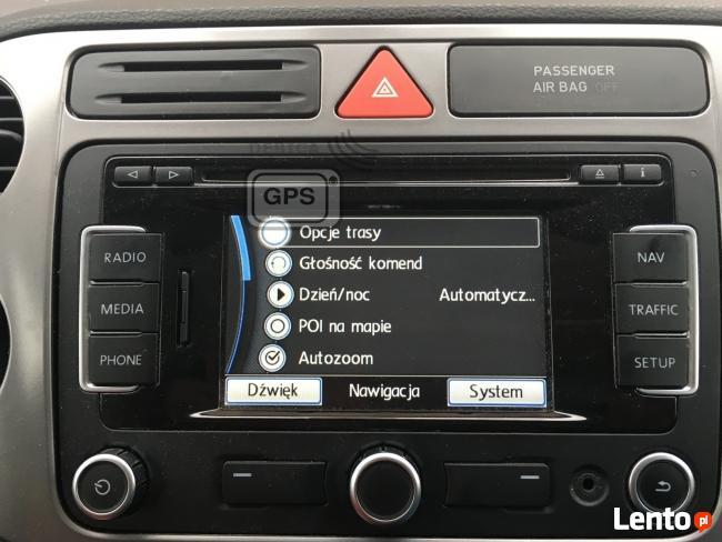 Polskie Menu Lektor RNS 310 Volkswagen Skoda Seat Mapa 2018