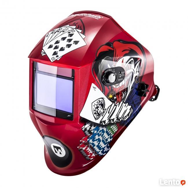 Przyłbica maska spawalnicza automatyczna z regulacją