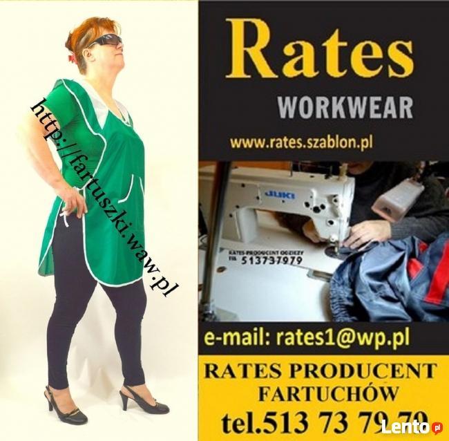 Odzież Robocza i Medyczna firmy RATES