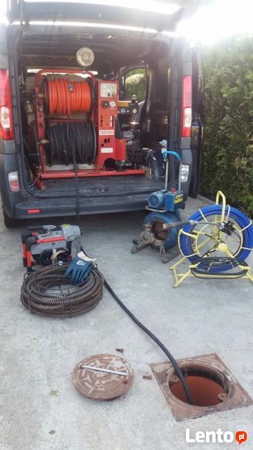 Hydraulik,wuko,przetykanie kanalizacji,kamera inspekcyjna,aw