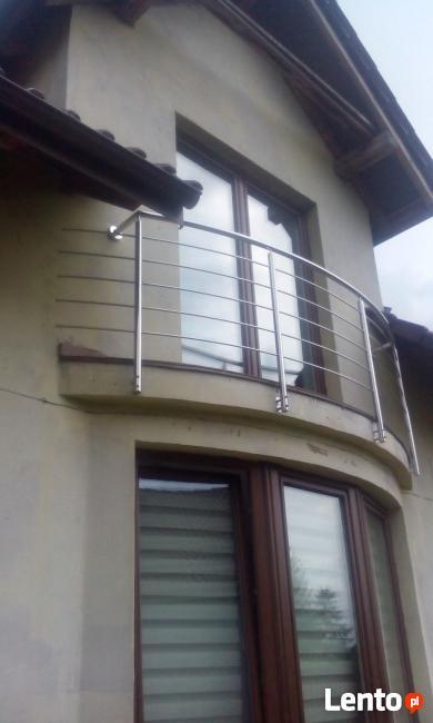 schody, barierki nierdzewne nowoczesne, balkony. kuchnie
