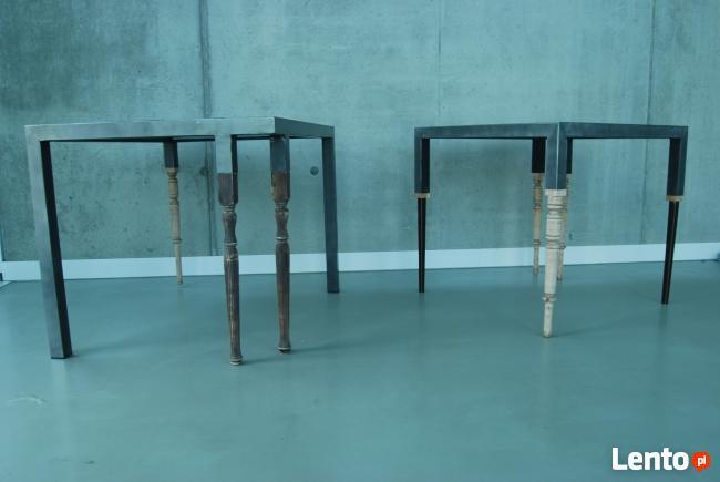 stół stalowy - Projekt MASS studio
