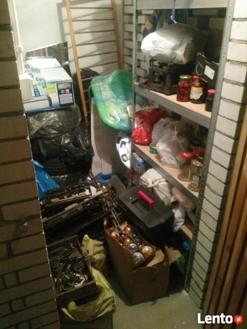 Sprzątanie piwnic komórek, garaży, strychów Tanio i solidnie