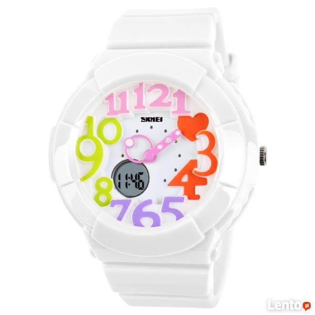 Dziecięcy damski zegarek styl BABY G wodoszczelny 3 kolory