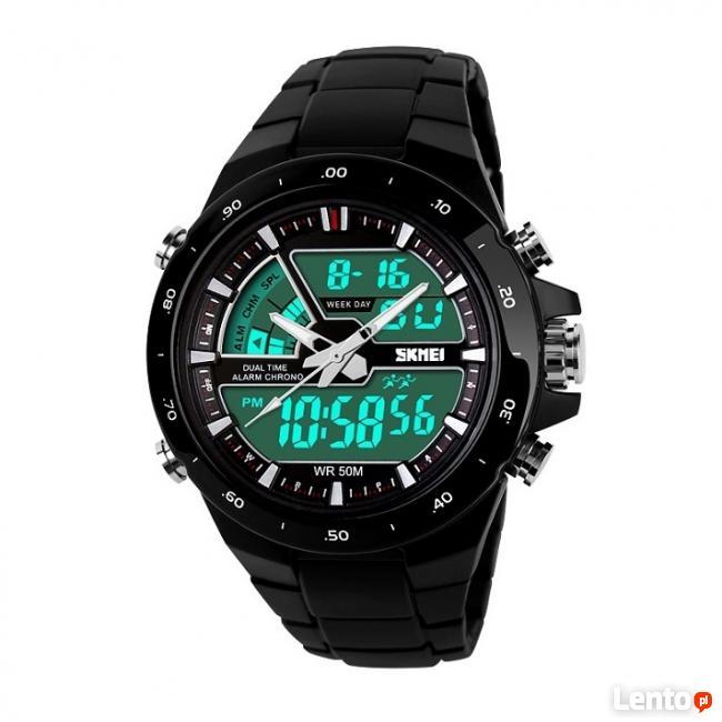 Zegarek na bransolecie z tworzywa super kolory wodoszczelny