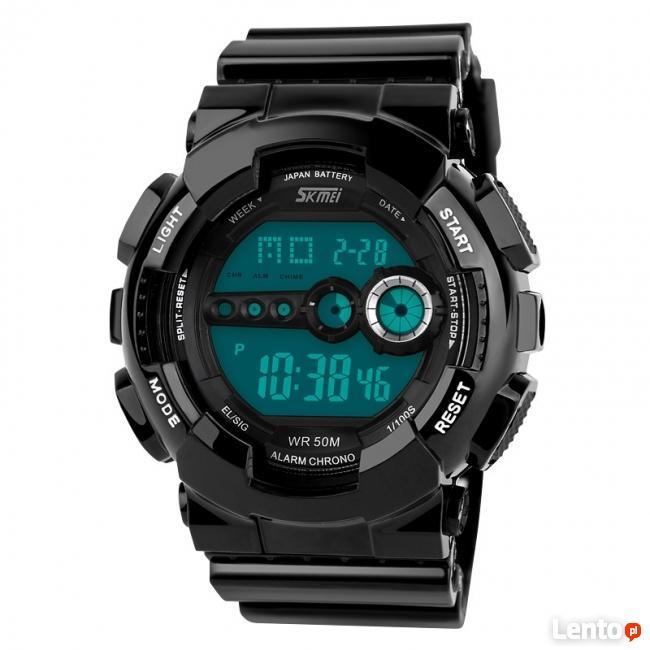 Super kolorowy zegarek HIPSTERSKI jaskrawe kolory WR50