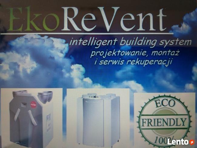Ekorevent-Rekuperacja,wentylacja -montaaż i serwis