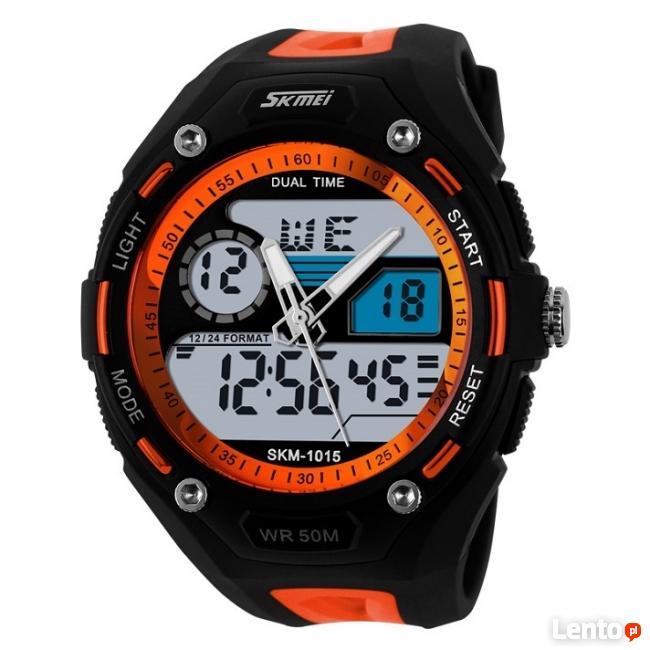 Elektroniczny zegarek podświetlenie wodoszczelny 3 kolory