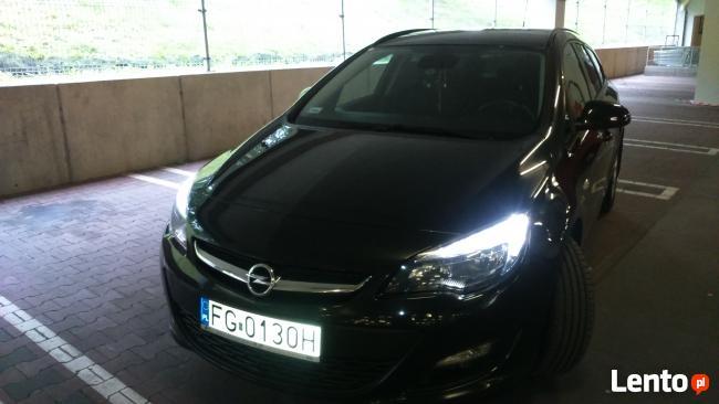 Opel Astra J IV Sport Tourer 1,4 140KM kombi + LPG