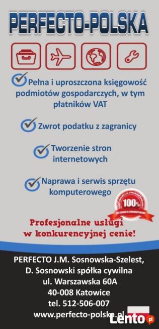 Księgowość oraz usługi IT (tworzenie stron www, serwis PC)