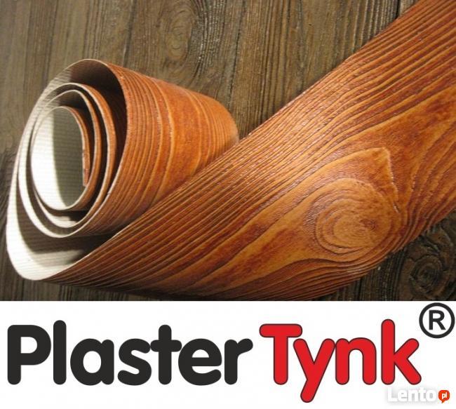 elastyczna deska elewacyjna PlasterTynk imitacja drewna