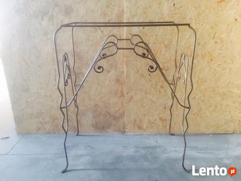 Ława - stół - lada butik wysoka kuta ręcznie na zamówienie z