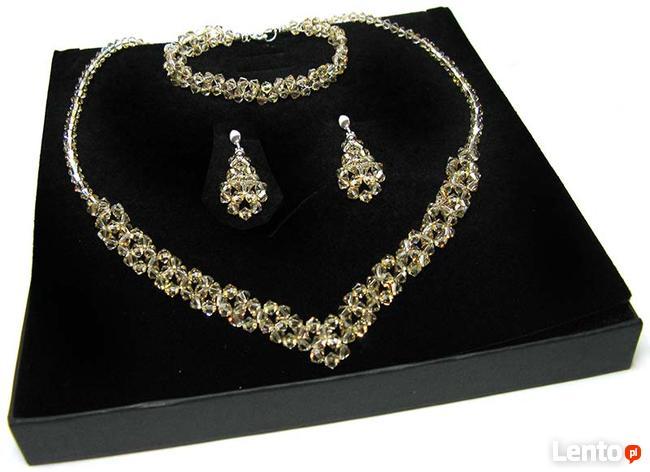 Biżuteria Ślubna Swarovski - komplet