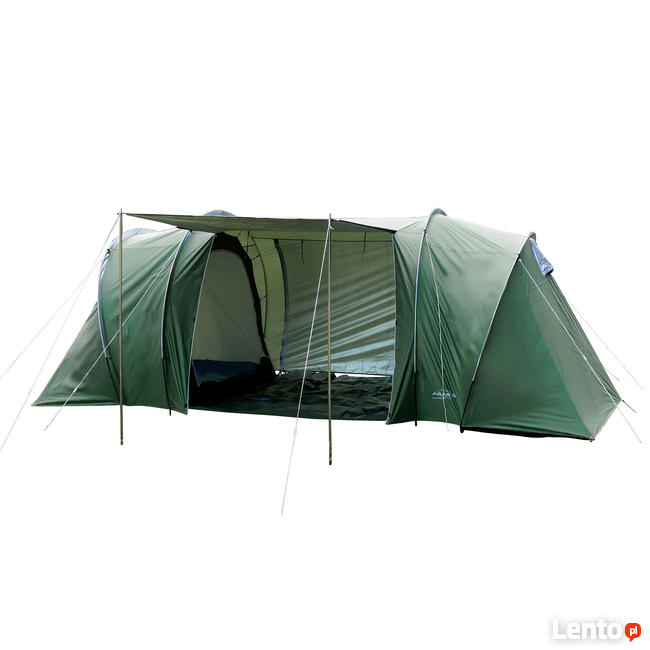 Ogromny Archiwalne Nowy namiot 4 osobowy 2 sypialnie vis a vis Warszawa KW42