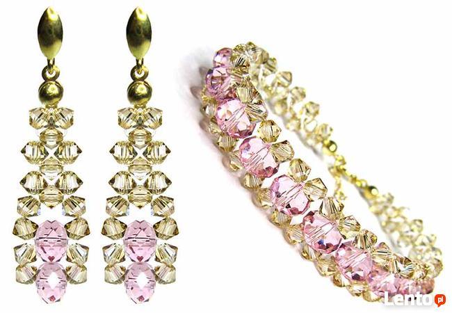 Biżuteria Ślubna Swarovski - delikatny model