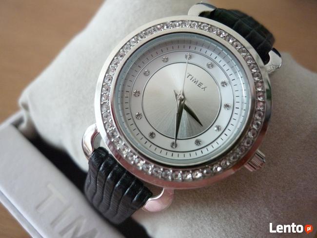NOWY damski zegarek TIMEX Crystal T2P477 ! Gwarancja