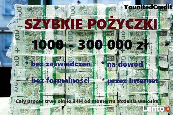 Pożyczka na spłatę zobowiązań do 300 tys zł !!!