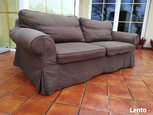 Archiwalne Sofa Rozkładana Ektorp Ikea Kanapa łózko