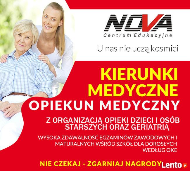 Opiekun medyczny z geriatrią - nabór rozpoczęty !