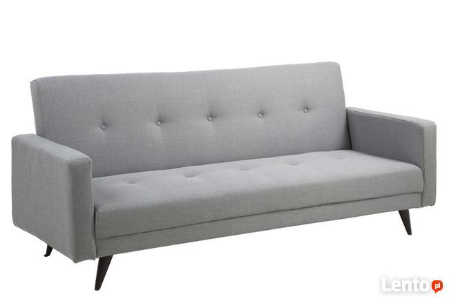 Sofa pikowana rozkładana 217 cm